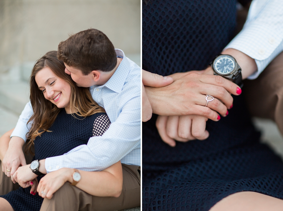 downtown scranton engagement session