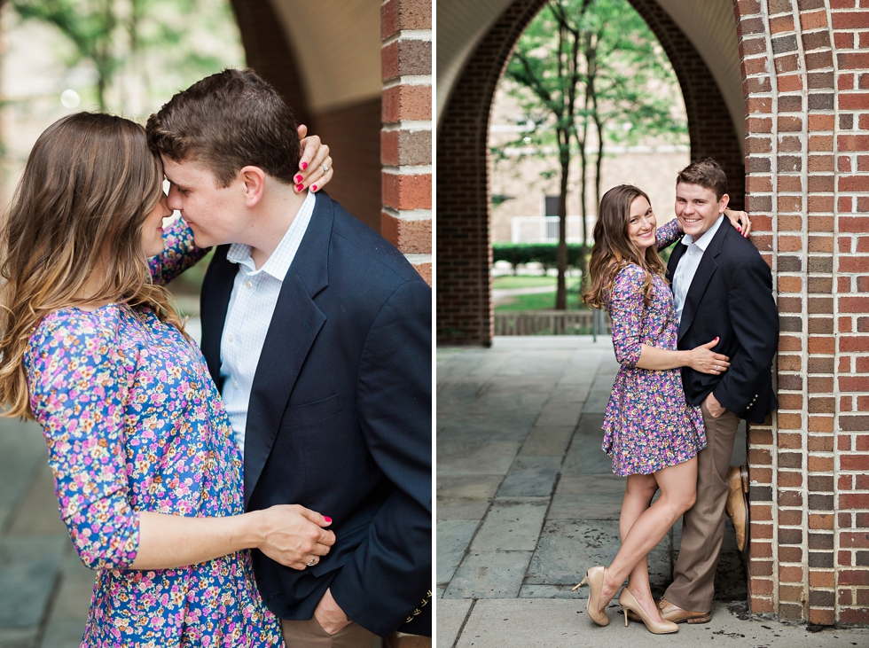 university of scranton engagement photo