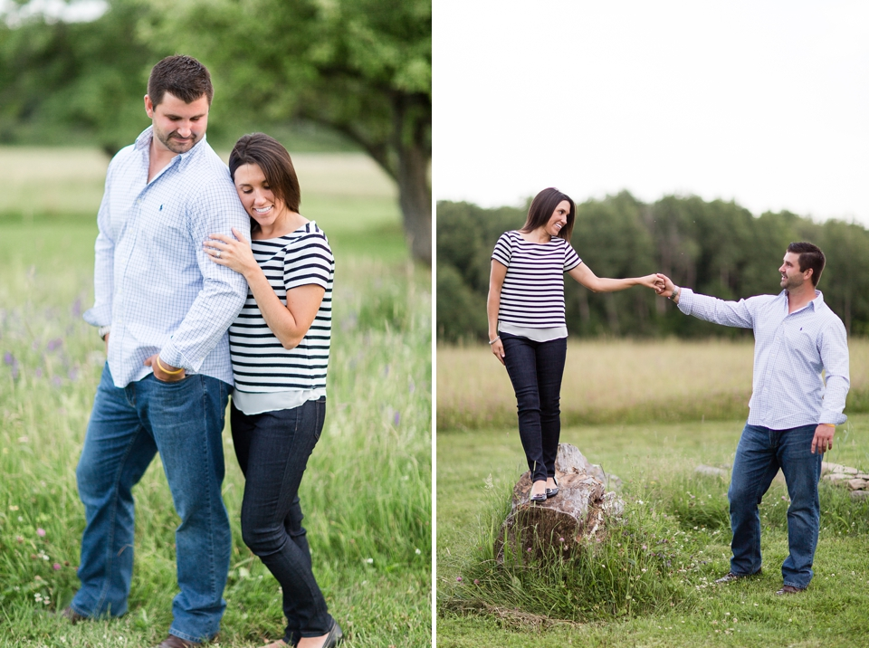 Fiddle Lake Farm Engagement